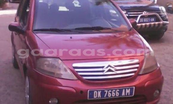 Acheter Voiture Citroen C3 Rouge à Gueule Tapee Fass Colobane en Dakar