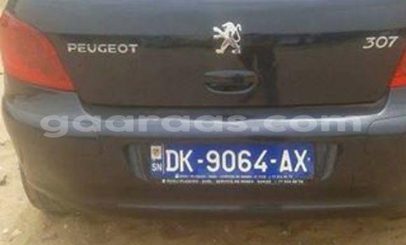 Acheter Voiture Peugeot 307 Noir à Gueule Tapee Fass Colobane en Dakar