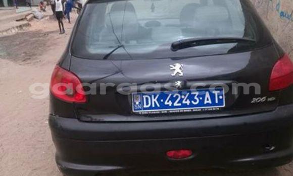 Acheter Voiture Peugeot 206 Noir à Gueule Tapee Fass Colobane en Dakar