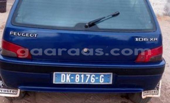 Acheter Voiture Peugeot 106 Bleu à Gueule Tapee Fass Colobane en Dakar